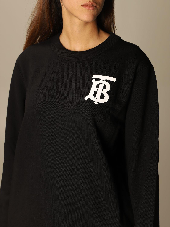 Sweatshirt Burberry: Sweatshirt women Burberry black 5