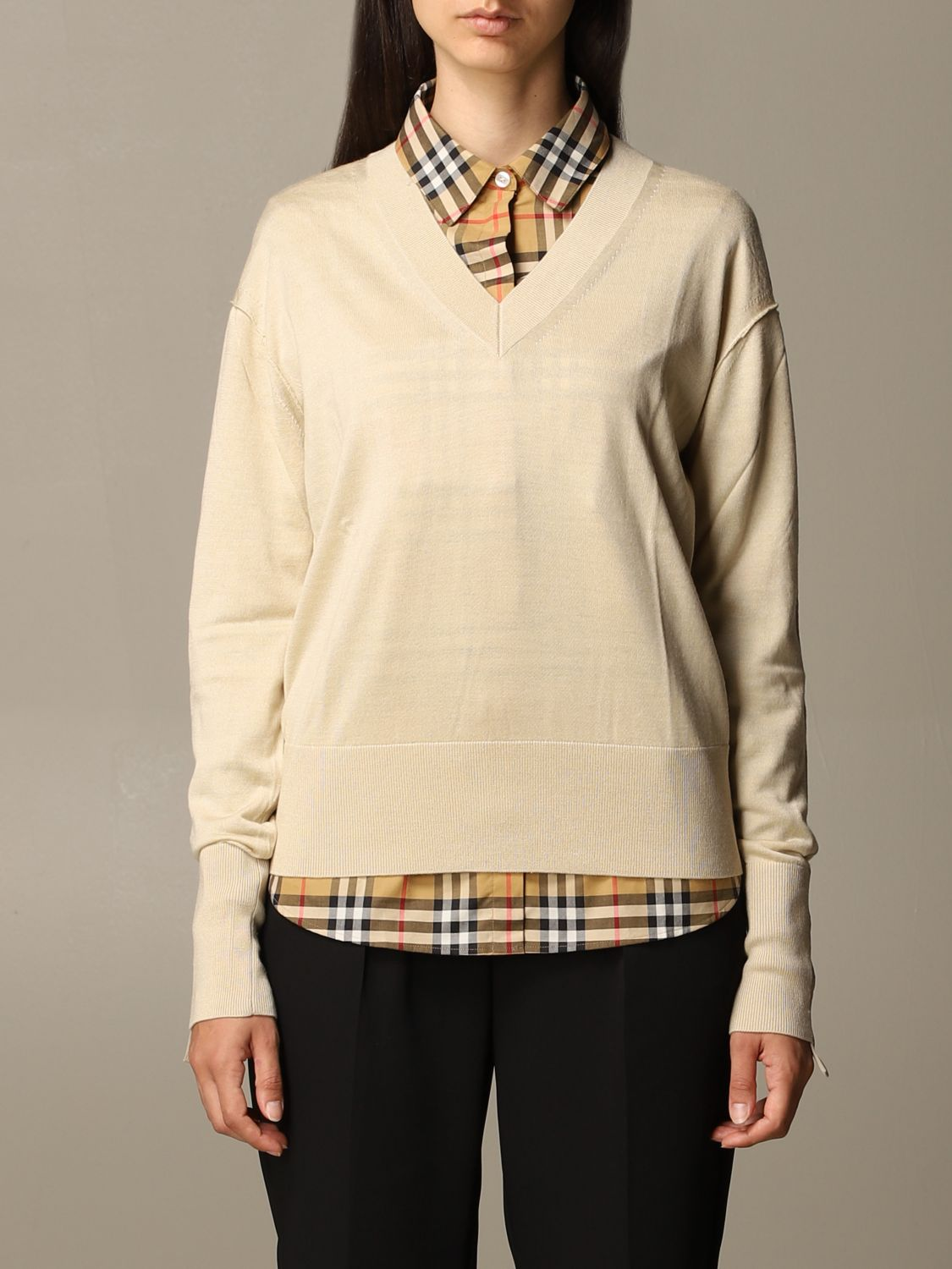 Jumper Burberry: Jumper women Burberry yellow 1