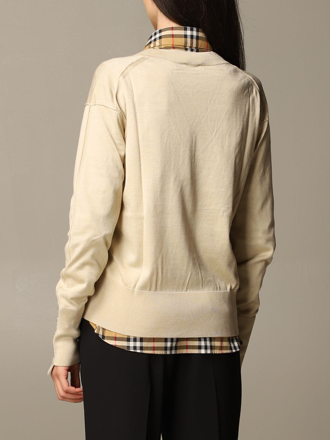 Jumper Burberry: Jumper women Burberry yellow 2