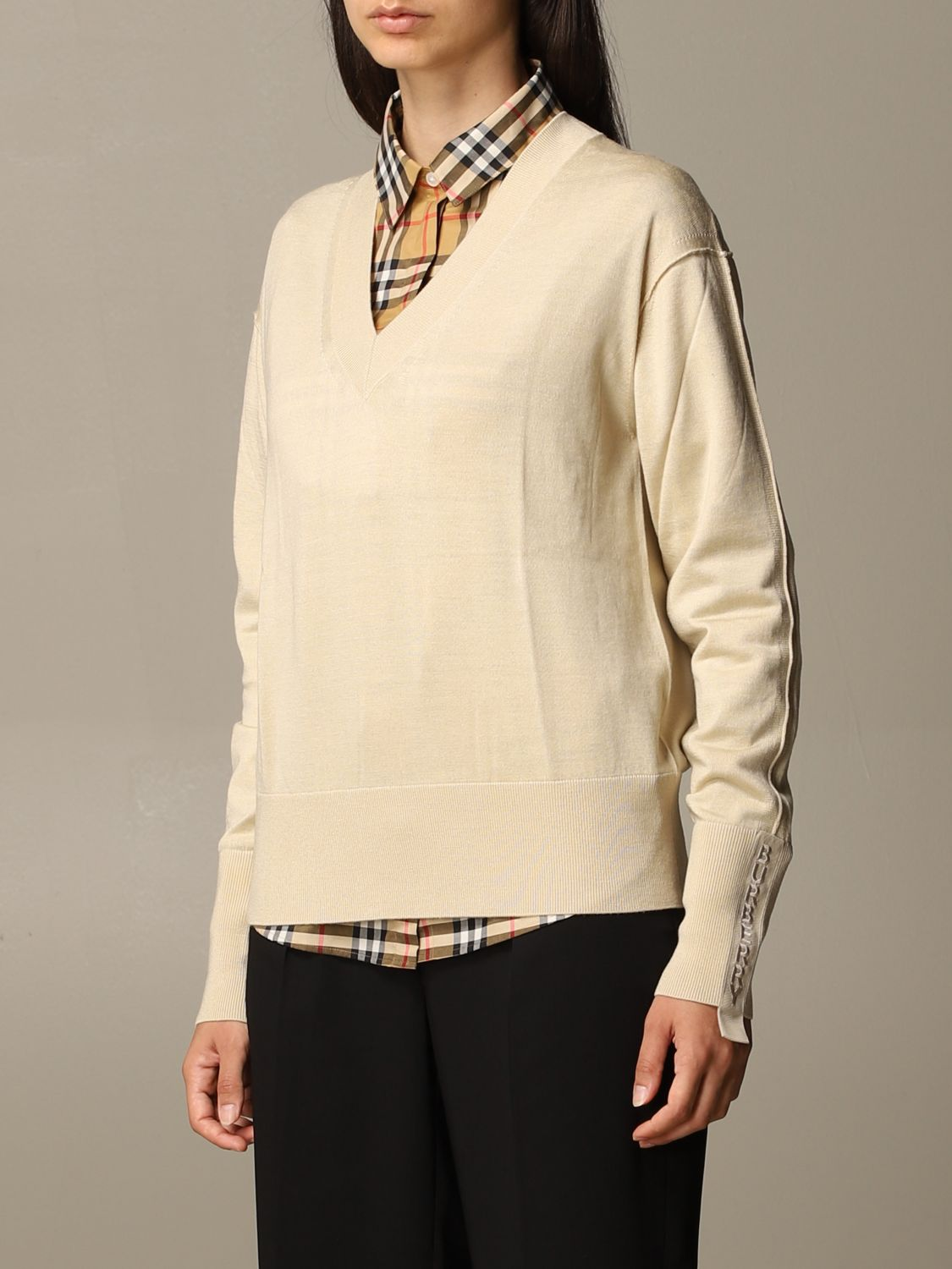 Jumper Burberry: Jumper women Burberry yellow 3