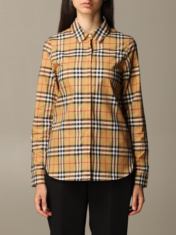 Shirt Burberry: Shirt women Burberry yellow 1