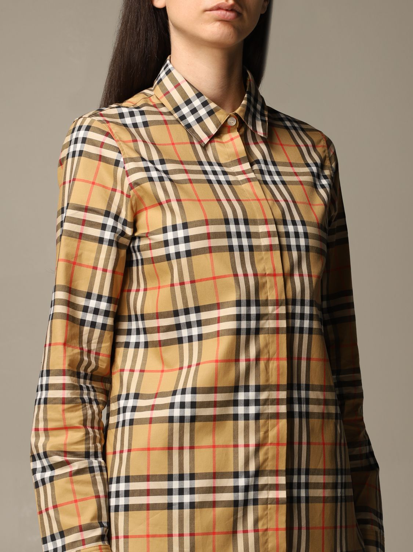 Shirt Burberry: Shirt women Burberry yellow 4