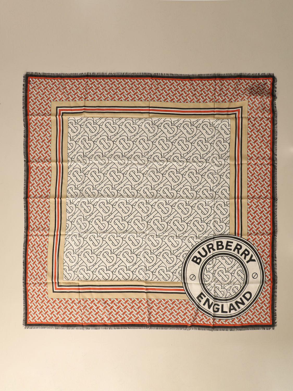 Scarf Burberry: Scarf women Burberry beige 2