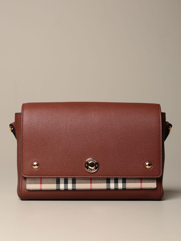 Crossbody bags Burberry: Shoulder bag women Burberry brown 1