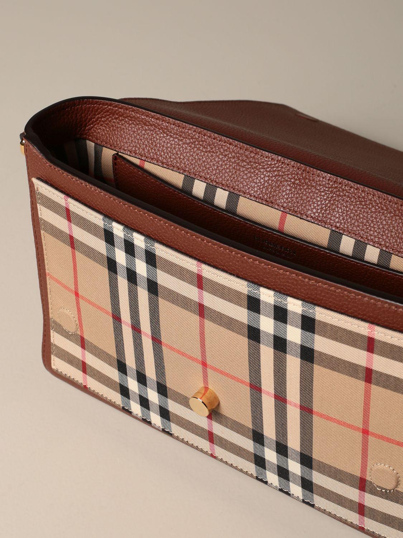 Crossbody bags Burberry: Shoulder bag women Burberry brown 4