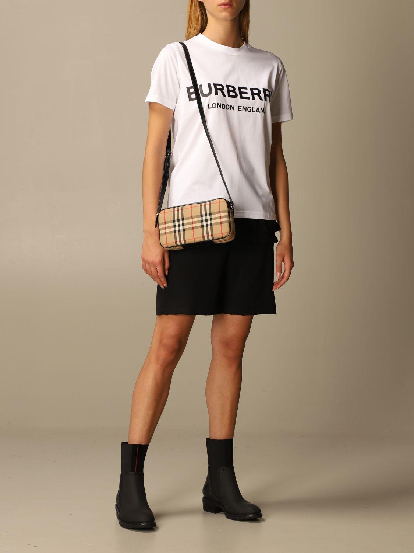 Crossbody bags Burberry: Shoulder bag women Burberry beige 2