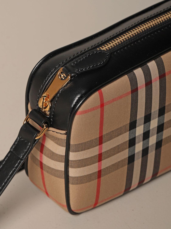 Crossbody bags Burberry: Shoulder bag women Burberry beige 4
