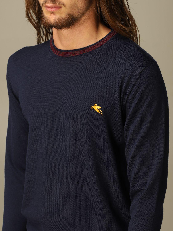 毛衣 Etro: 毛衣 男士 Etro 海军蓝 3