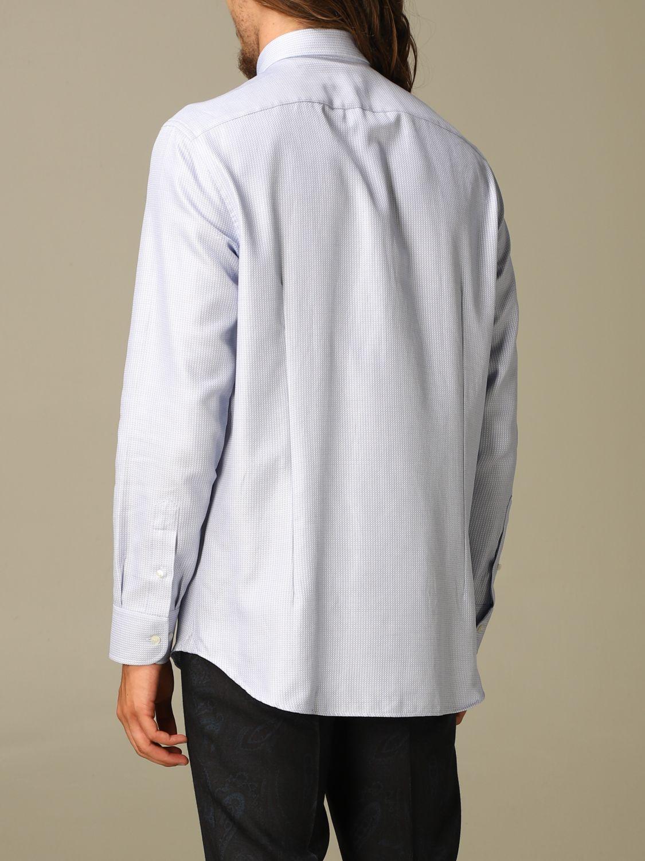 Shirt Etro: Shirt men Etro gnawed blue 2