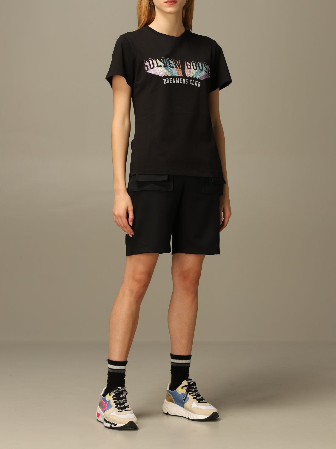 T-Shirt Golden Goose: T-shirt damen Golden Goose schwarz 2