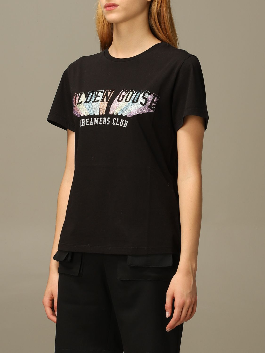 T-Shirt Golden Goose: T-shirt damen Golden Goose schwarz 4