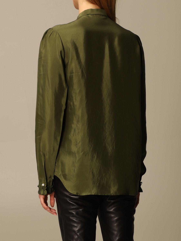 Camicia Golden Goose: Camicia Golden Goose alla coreana con rouches militare 3