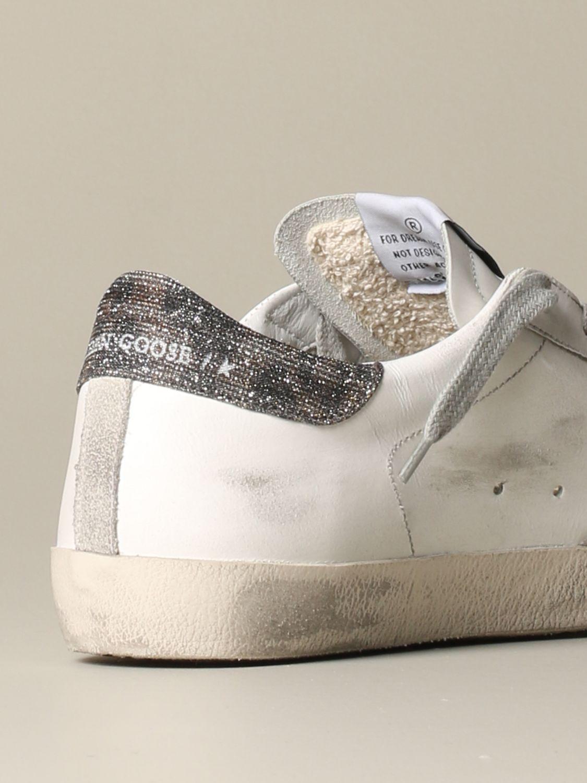 Sneakers Golden Goose: Sneakers Superstar Golden Goose in pelle bianco 3