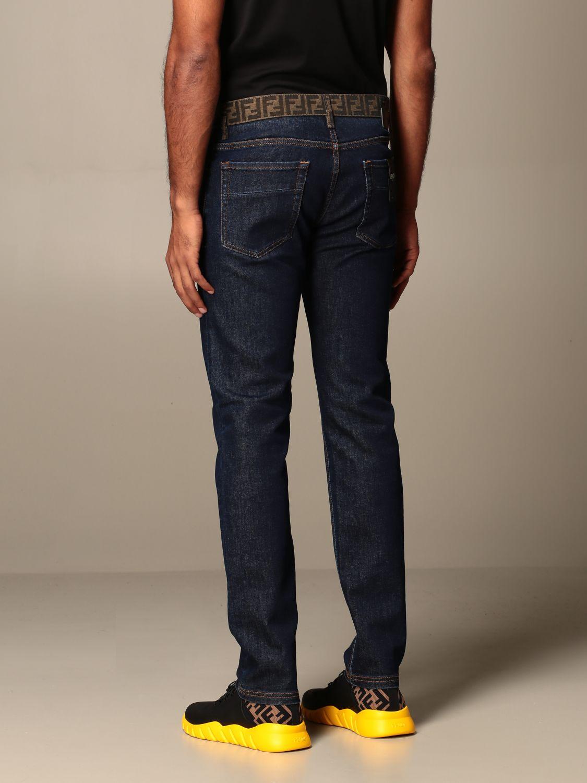 牛仔裤 Fendi: 牛仔裤 男士 Fendi 蓝色 3