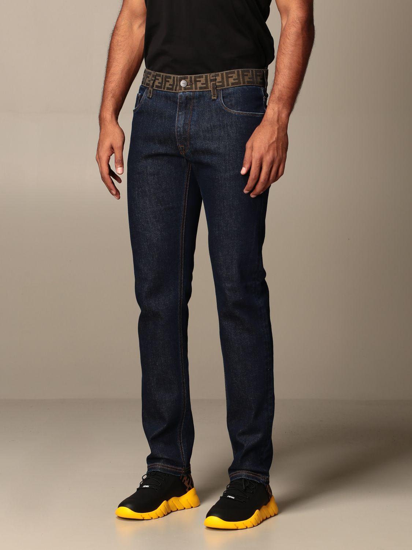 牛仔裤 Fendi: 牛仔裤 男士 Fendi 蓝色 4