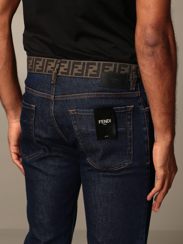 牛仔裤 Fendi: 牛仔裤 男士 Fendi 蓝色 5