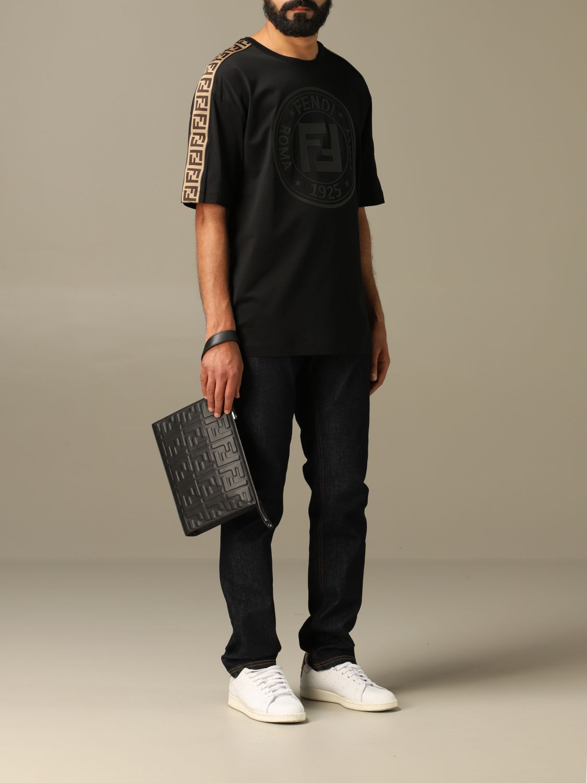 Jeans Fendi: Jeans hombre Fendi azul oscuro 2
