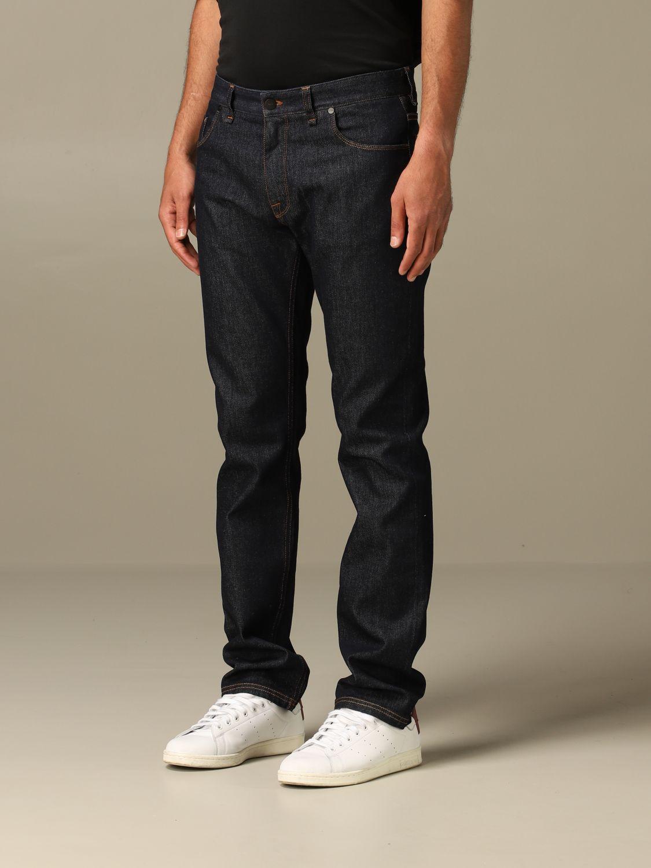 Jeans Fendi: Jeans hombre Fendi azul oscuro 4