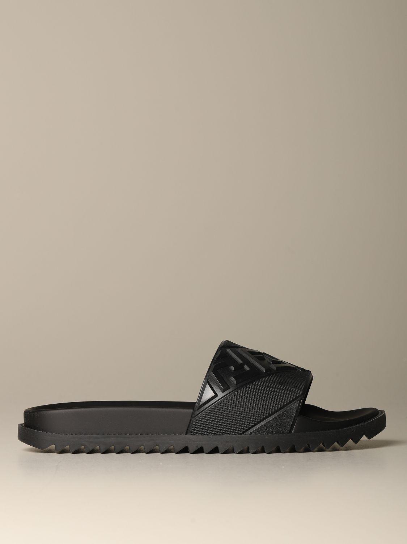 Sandalias Fendi: Zapatos hombre Fendi negro 1