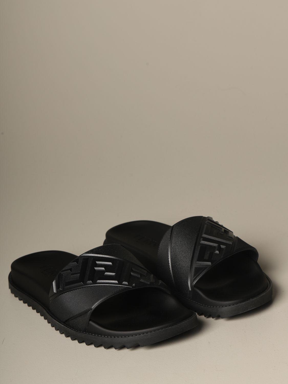 Sandalias Fendi: Zapatos hombre Fendi negro 2