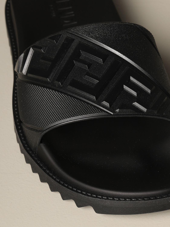 Sandalias Fendi: Zapatos hombre Fendi negro 4