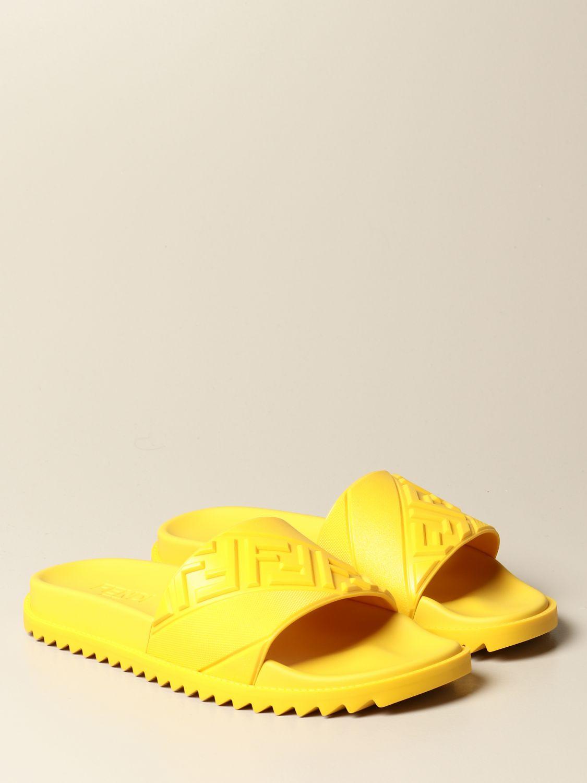 Sandalias Fendi: Zapatos hombre Fendi amarillo 2
