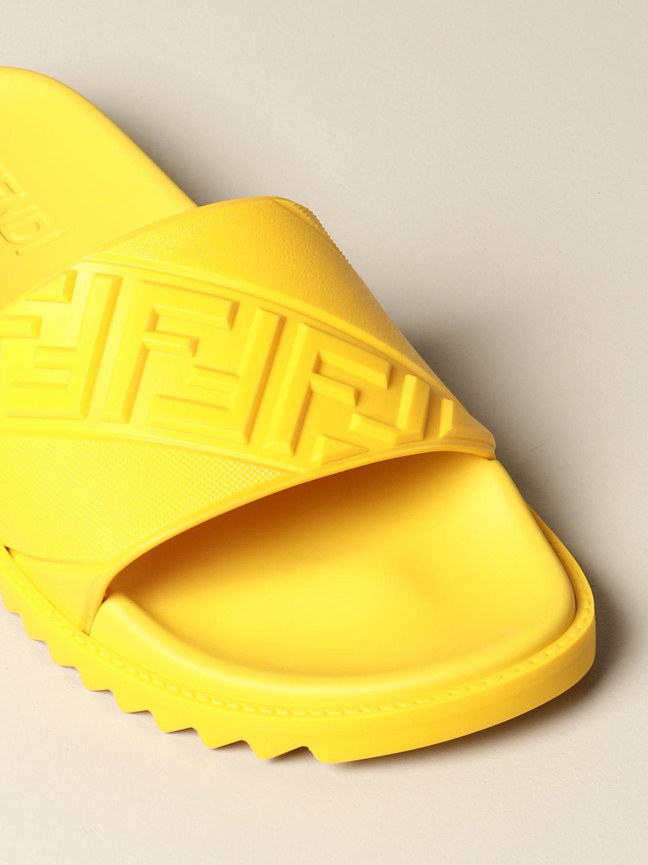 Sandalias Fendi: Zapatos hombre Fendi amarillo 4