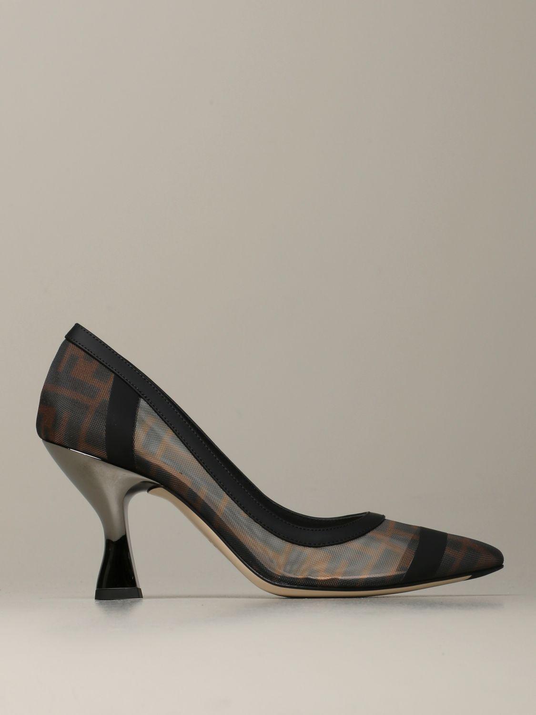 Escarpins Fendi: Chaussures femme Fendi tabac 1