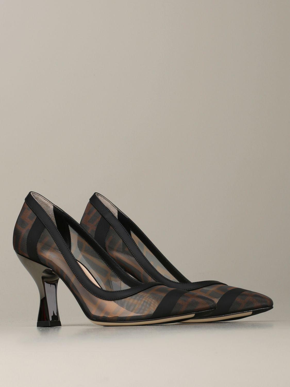 Escarpins Fendi: Chaussures femme Fendi tabac 2