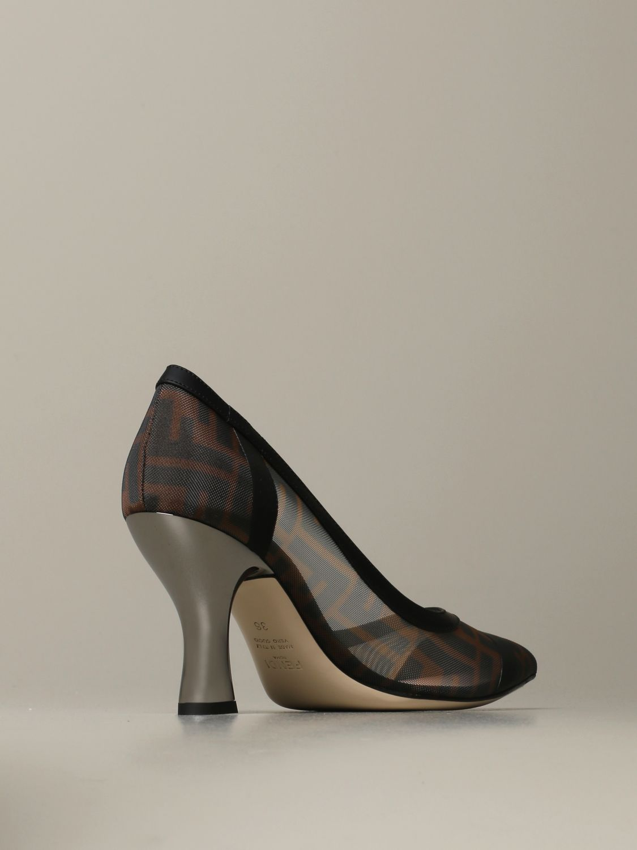 Escarpins Fendi: Chaussures femme Fendi tabac 3