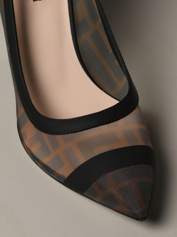Escarpins Fendi: Chaussures femme Fendi tabac 4