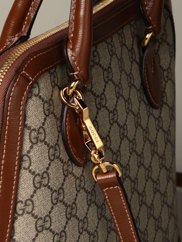 Sac porté main Gucci: Sac Horsebit 1955 Gucci GG Supreme marron 3