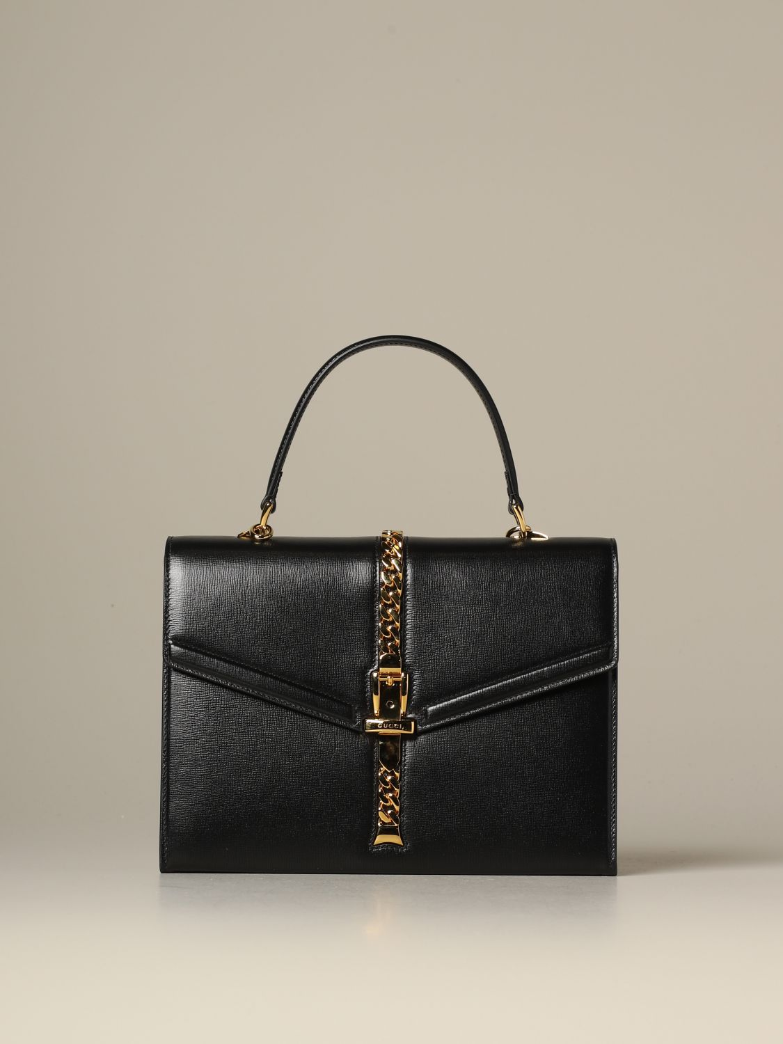 Handbag Gucci: Shoulder bag women Gucci black 1