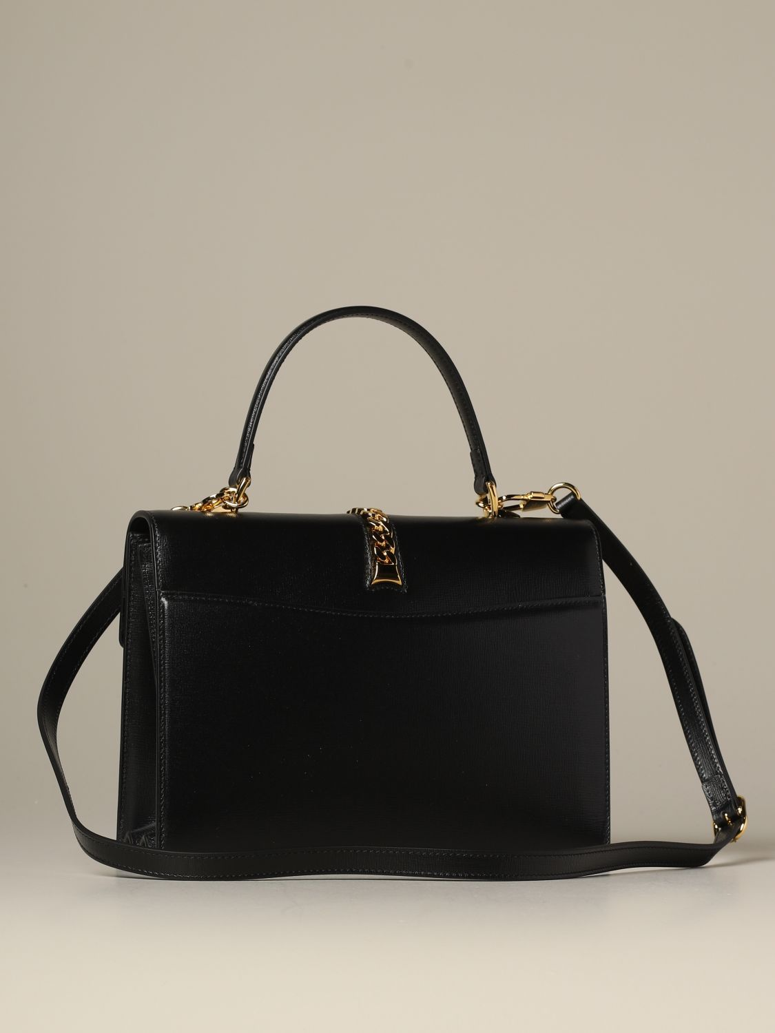 Handbag Gucci: Shoulder bag women Gucci black 2