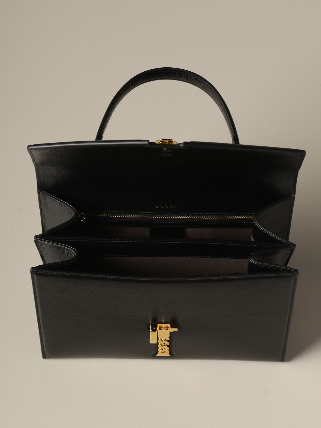 Handbag Gucci: Shoulder bag women Gucci black 4