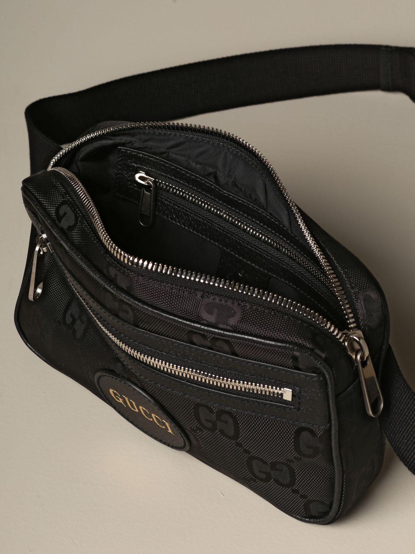 Belt bag Gucci: Gucci Off the Grid nylon belt bag black 4