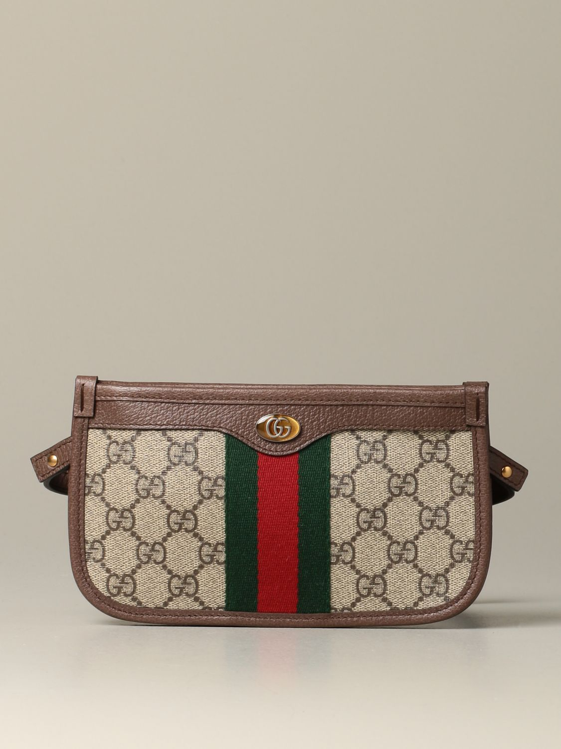 Belt bag Gucci: Ophidia Gucci GG Supreme shoulder bag beige 1