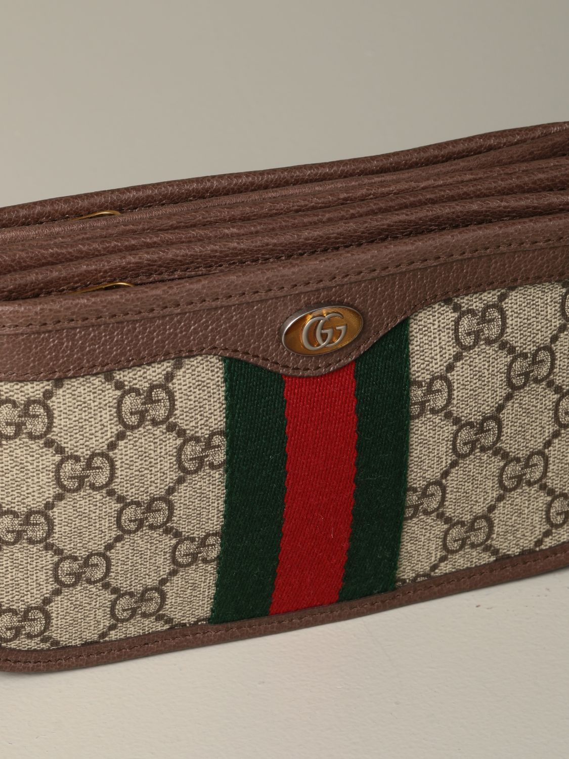 Belt bag Gucci: Ophidia Gucci GG Supreme shoulder bag beige 3