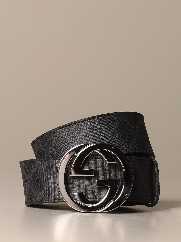 Belt Gucci: Belt men Gucci black 1