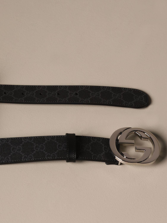 Belt Gucci: Belt men Gucci black 2