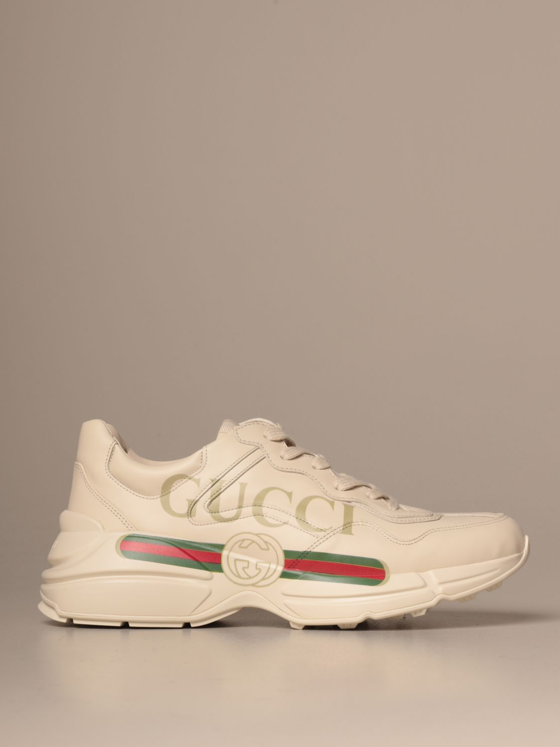 Trainers Gucci: Shoes men Gucci white 1
