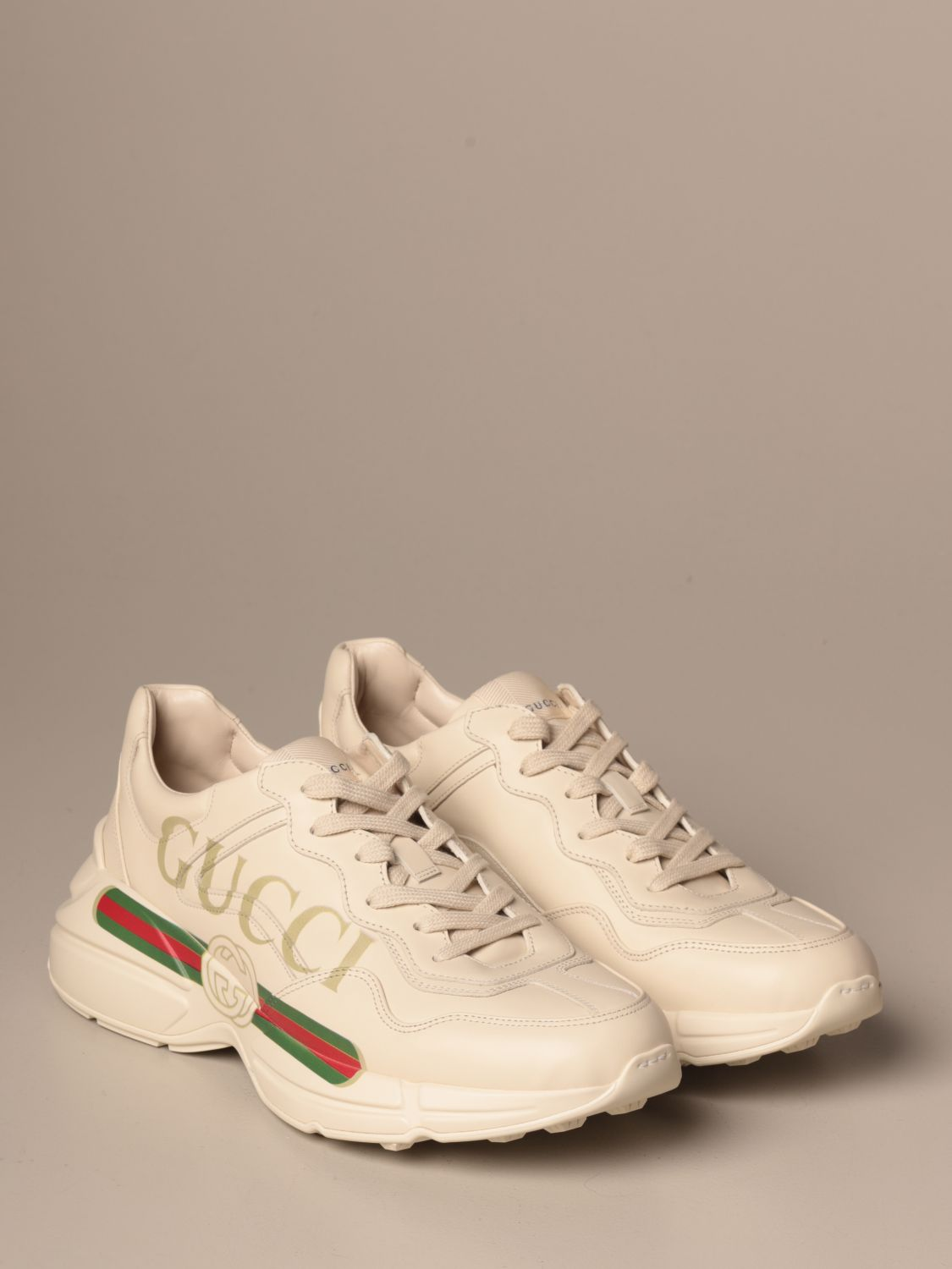 Trainers Gucci: Shoes men Gucci white 2