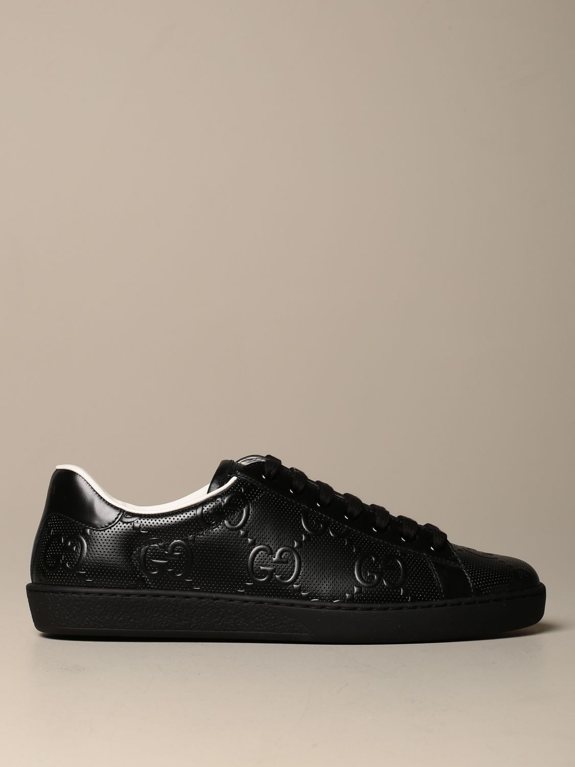 Ace Gucci sneakers in dotted leather