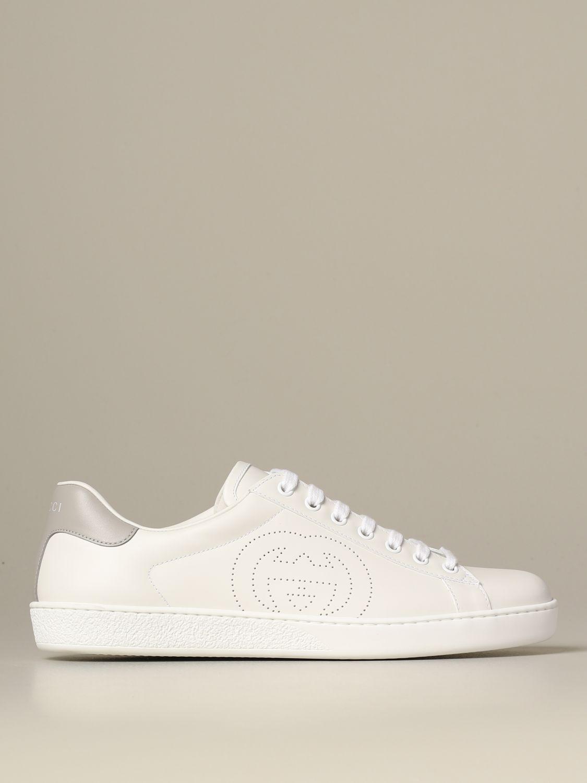 Trainers Gucci: Shoes men Gucci white 1