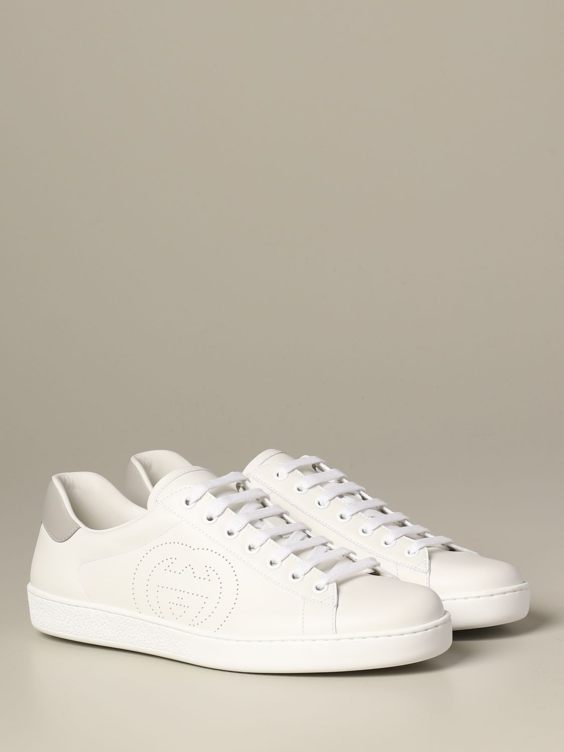 Gucci Ace leather sneakers with colored
