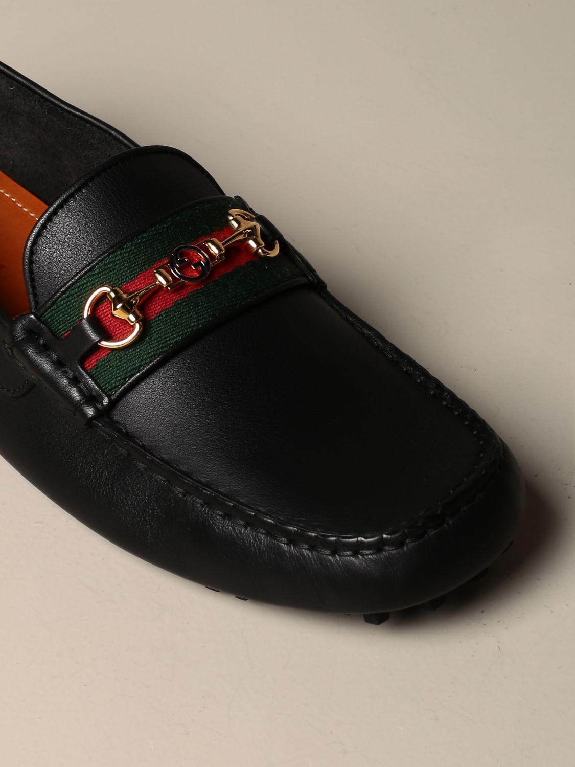 Gucci Ayrton driver leather moccasin