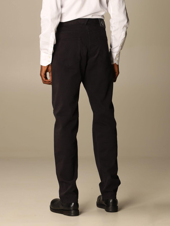 Pants Giorgio Armani: Pants men Giorgio Armani blue 2