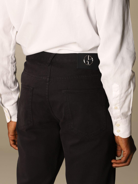 Pants Giorgio Armani: Pants men Giorgio Armani blue 4