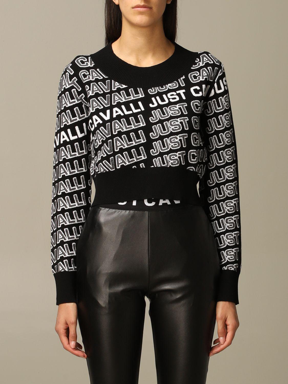 Jersey Just Cavalli: Jersey mujer Just Cavalli negro 1