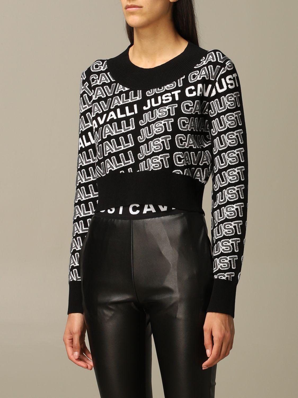 Jersey Just Cavalli: Jersey mujer Just Cavalli negro 4